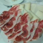 tapa de jamon iberico y queso