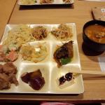 Natural food Buffet Kasoka Hankyu Nishinomiya gardens