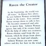 """Raven, the Creator"" explanation"
