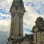 vue sur gare de Limoges depuis chambre