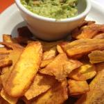 Guac + Plantain Chips