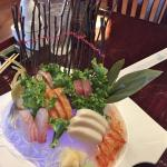 Sashimi Deluxe - Incredible Presentation