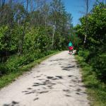 L'endroit rêvé pour le vélo, Sentiers du Littoral, 27 km, Rimouski