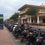 The pesky mopeds