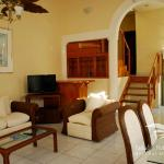 Inside our spacious Villas and their comfortable living areas where you can relax and enjoy!