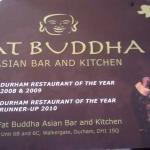 I think Budhha was the No 1 restaurant in 2008' 9 and 10 but missed the accolade for the past 5