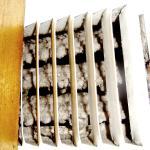 Clogged AC vent