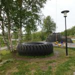 BIG wheel from the Kirkenes mining industry