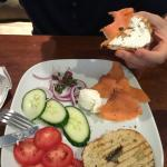 Ducktrap River of Maine Smoked Salmon Plate
