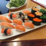 Sushi tasted no bad