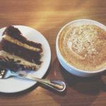 Chai tea and carrot cake glory.