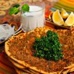 Pre order lahmacun available order one day before