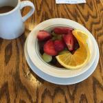 A side of fruit.