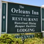 Orleans Inn Sign - Welcome Guests