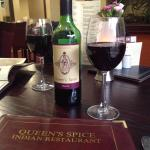 Queen's Spice house red.....yum!