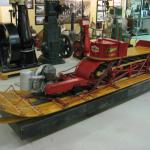 Early snowmobile