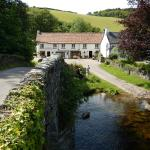 View of the Inn from the packhorse bridge