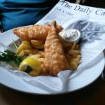 lrge fish and chips - very tasty