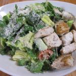 Kale Caesar Salad with Mahi-Mahi at Lyfe Kitchen (28/July/15).