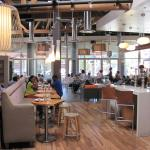 Modern, clean and fresh dining at Lyfe Kitchen Culver City (28/July/15).