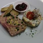 duck and pistacchios terrine
