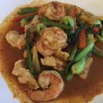 Chef's shrimp dish