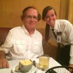 AJ's Steakhouse server Baylie made a delicious evening even better!