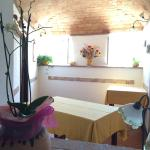 We had a wonderful lunch in a beautiful setting above Final Borgo. Mother/son cook, while the fa