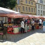 Il mercatino del sabato.