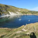Lulworth Cove, just down the road