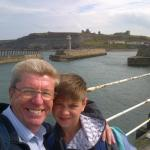 Whitby Harbour and Abbey