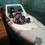 Con la Familia para ir a esnorquear