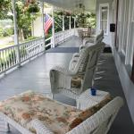 Wraparound porch