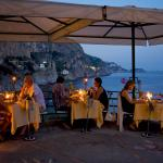 Candlelit DINNER in panoramic terrace overlooking the sea
