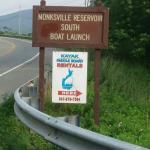 Monksville Reservoir, South Boat Launch