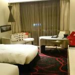 habitación doble, muy comoda y limpia