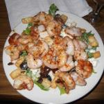 Salad with Grilled Shimp