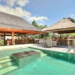 Villa Indah Manis - House Viewed from Pool