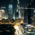 Here's the Burj Khalifa view from our venue that everyone's been raving about.