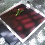 Panacotta de fruits rouges