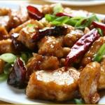 tofu with seasonal veg