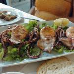 Calamari alla griglia