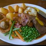 Large Roast Beef Dinner
