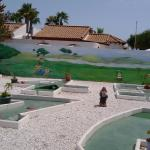 The minions themed minigolf at La Zona