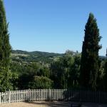 the view at Le Mas de Jouas
