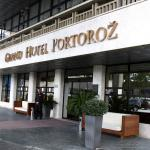 Entrance to the Grand Hotel Portorož