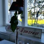Interiör Björknäsudden s hotell.