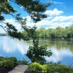 Delaware River backdrop