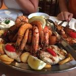 Mediteranne Fischplatte