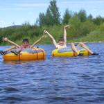 Rafting on the Yampa River in Steamboat